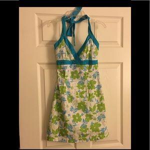 La Belle Halter Dress - Cotton & Spandex